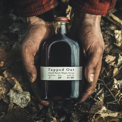 Tapped Out Small Batch is a Limited Edition Canadian Artisanal Maple Syrup