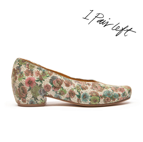 KEIRAN Wildflower | Floral Slip On Shoe | Tracey Neuls
