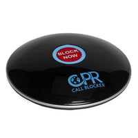 Load image into Gallery viewer, CPR Call Blocker Shield - Gloss Black - Side View