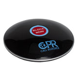 CPR Call Blocker Shield - Gloss Black - Side View