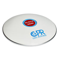 Load image into Gallery viewer, CPR Call Blocker Shield - Gloss White - Side View