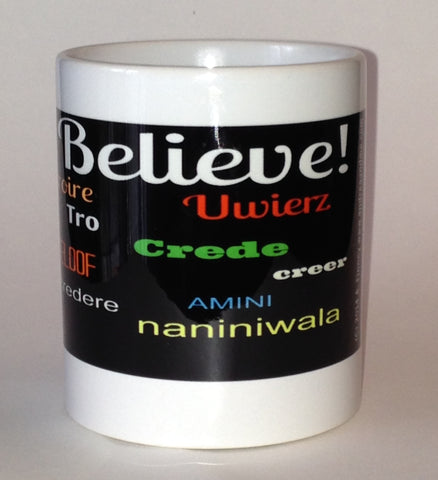 Ceramic coffee mugs with beautiful motivational messages. www.andreaandme.com
