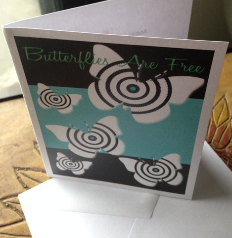 Note cards.  Butterflies are Free www.andreaandme.com