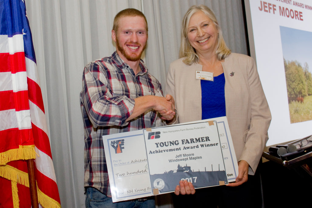 Jeff wins the NH Young Farmer Award, and other fall news from the Farm