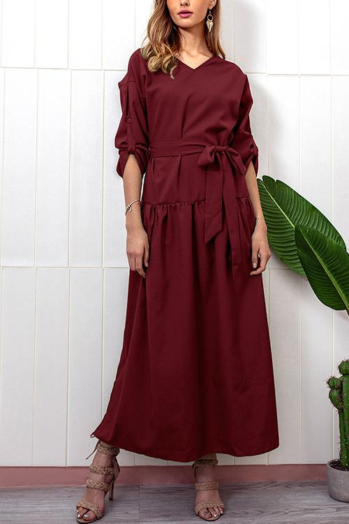 Autumn And Winter New Long-sleeved Dress