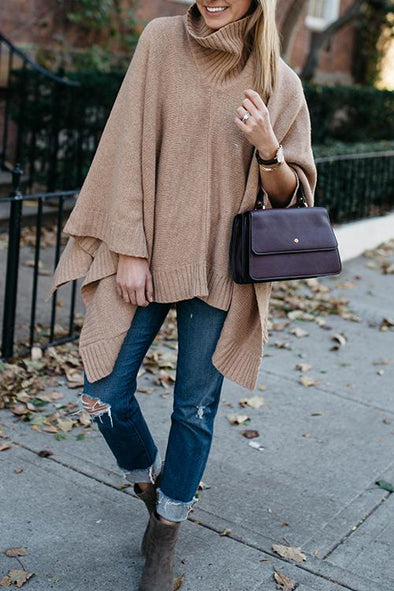 Casual Irregular Loose Sweater