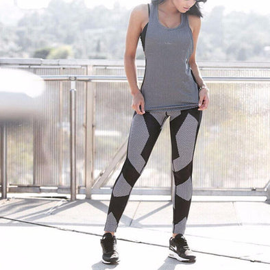 Fitness workout leggings - Strong - Black