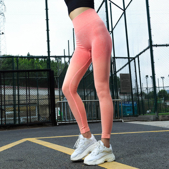 Anti Cellulite Leggings Energy Compression Push Up High Waist Workout Leggings