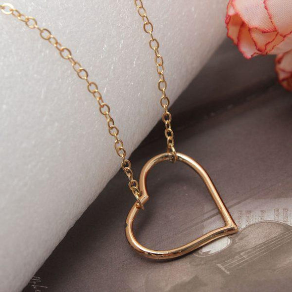 E&C Gold Hollow Out Heart Pattern Sexy Waist Chain