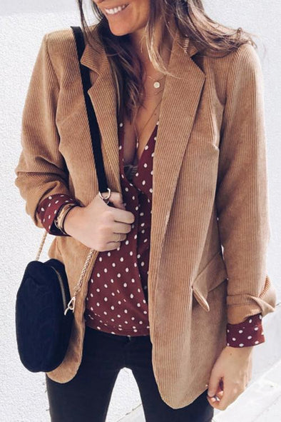 Casual Long Sleeves Coat
