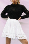 Knit Sweater Round Neck Pullover