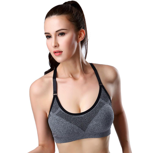 Fitness workout cropped top - Health - Quick dry - 5 colors