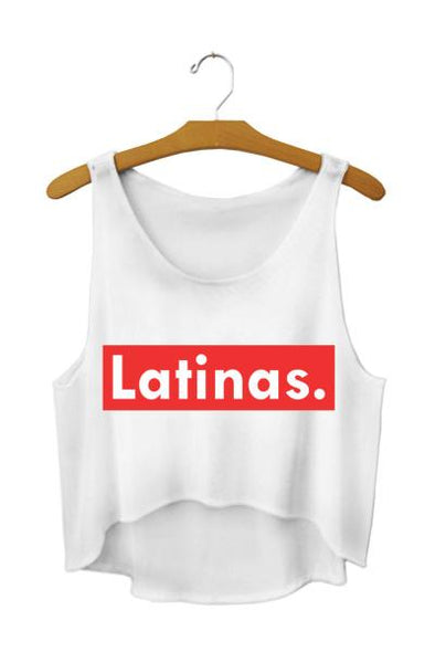 Fitness tank - Latinas - Quick dry - Crop