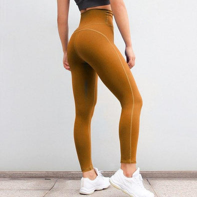 Fitness workout leggings - Crew yellow - Squat proof