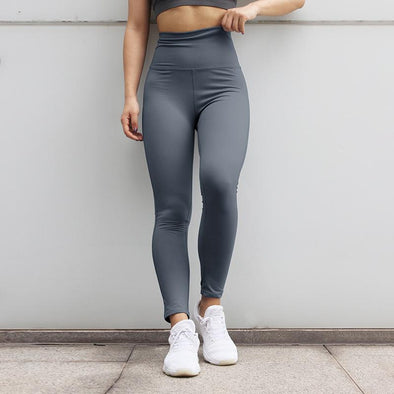 Fitness workout leggings - Crew grey - Squat proof