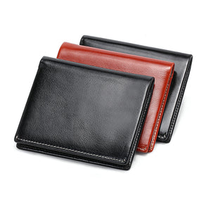 Courier Leather Wallet