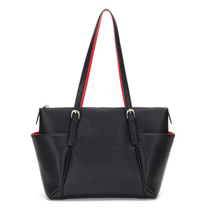 Natalie Leather Tote