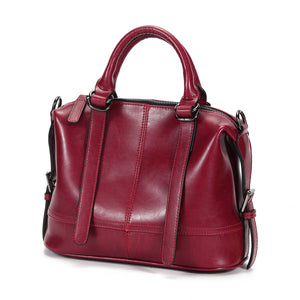Lourdes Leather Bag