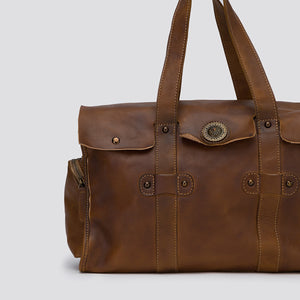 Oxford Leather Overnight Duffle