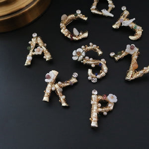 Alphabet Brooch