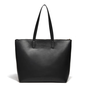 Venice Leather Zipper Tote