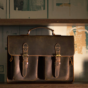 Manchester Leather Briefcase