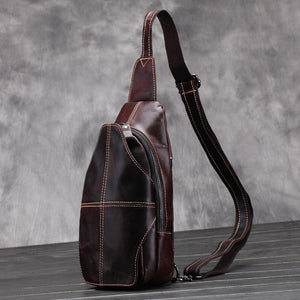 Plymouth Men's Chest Bag