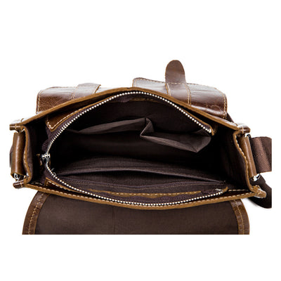 Oxford Leather Satchel