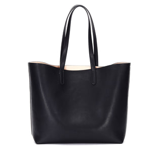 Venice Structured Leather Tote