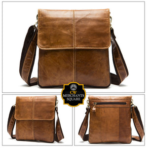 York Leather Satchel