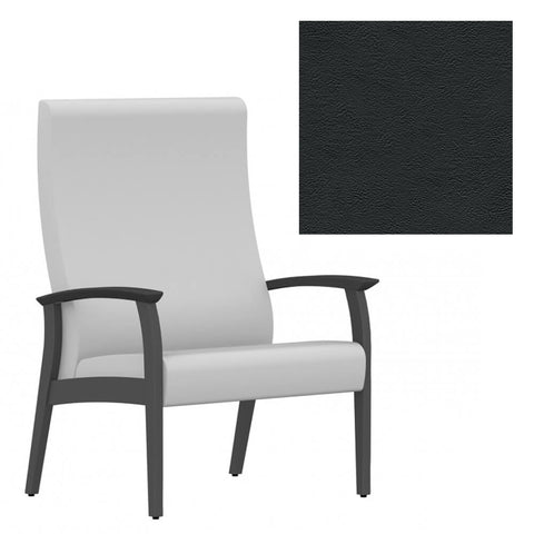 Solid Series Wide Chair With Arms 30W