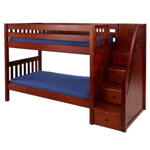 Calvin Kids Twin Bunk Beds