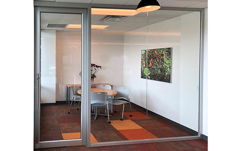 Glass Wall With Door TC17