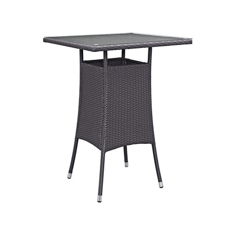Lona Wicker Bar Table