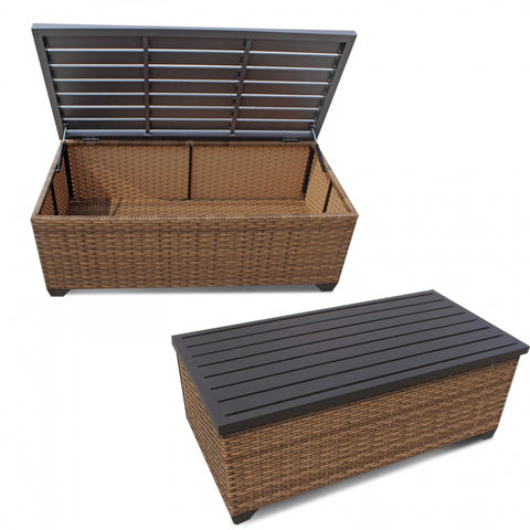 Vicenza Wicker Coffee Table