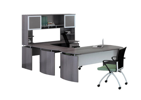 Catania C Shaped Desk 63W x 108D