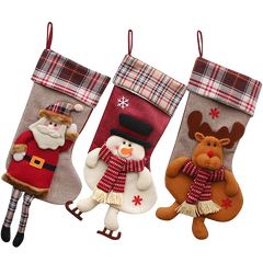 3 PCS SeT-18- Christmas Stockings