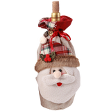 hiLISS 2pcs Snowman Santa Claus Christmas Candy Bag Home Gift Decor