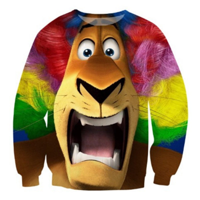 The Trippy Lion Sweatshirt - TrippyKitty