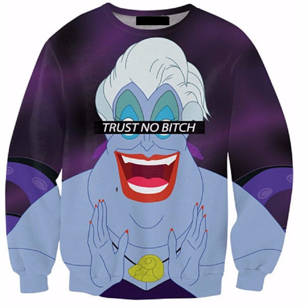 Trust No Bitch Sweatshirt - TrippyKitty