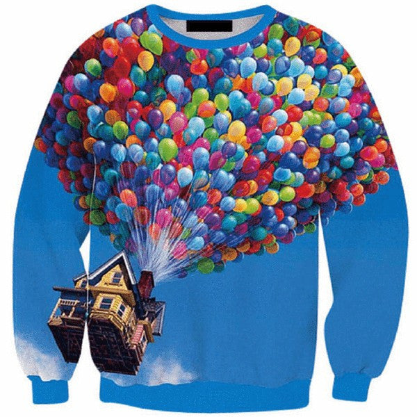 Up Sweatshirt - TrippyKitty