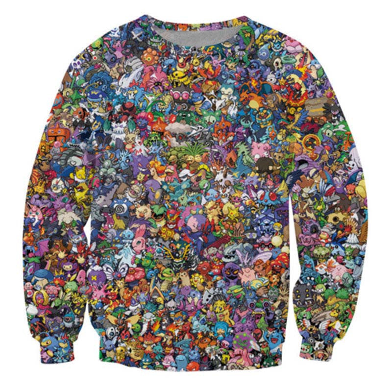 WOW and the rest..  Sweatshirt - TrippyKitty