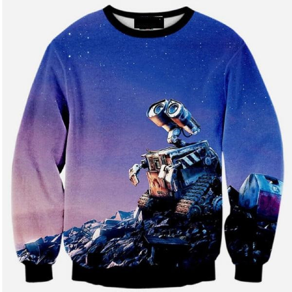 Wall E Sweatshirt - TrippyKitty