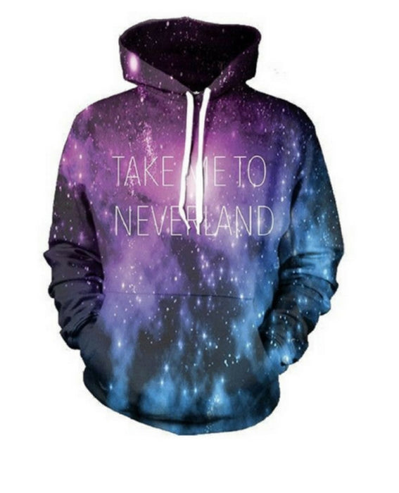 Take Me to Neverland Hoodie - TrippyKitty