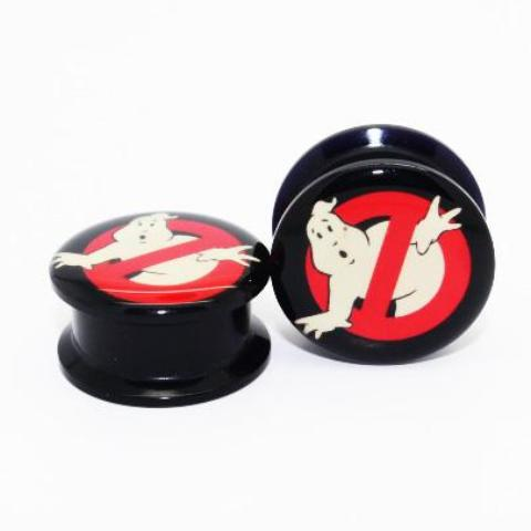Ghostbusters Tunnel (Single) Acrylic Screw Thread - TrippyKitty