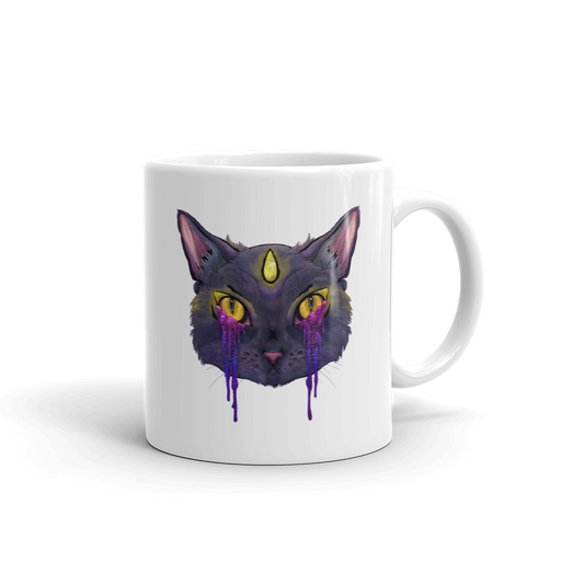 Trippy Kitty Mug