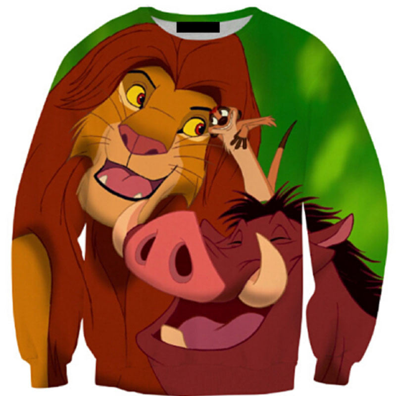 That inter Species Scene Crew Neck Sweatshirt - TrippyKitty