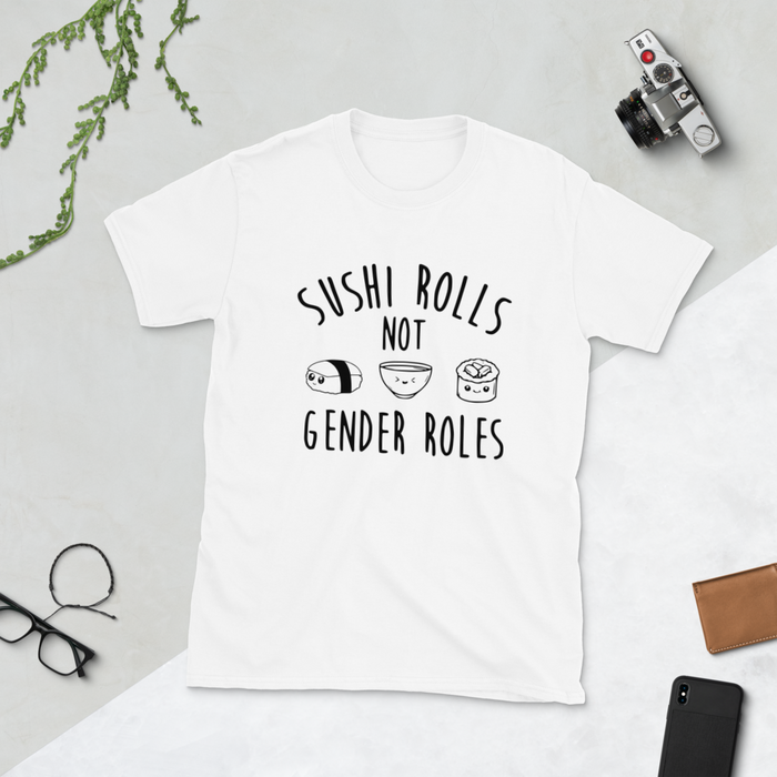 Sushi Rolls Cotton Tshirt