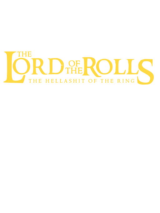 The Lord Of The Rolls Cotton T-Shirt