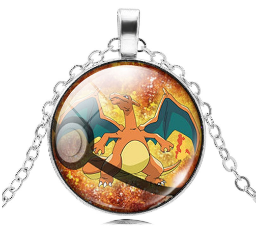 Charizard Pokemon Pendant